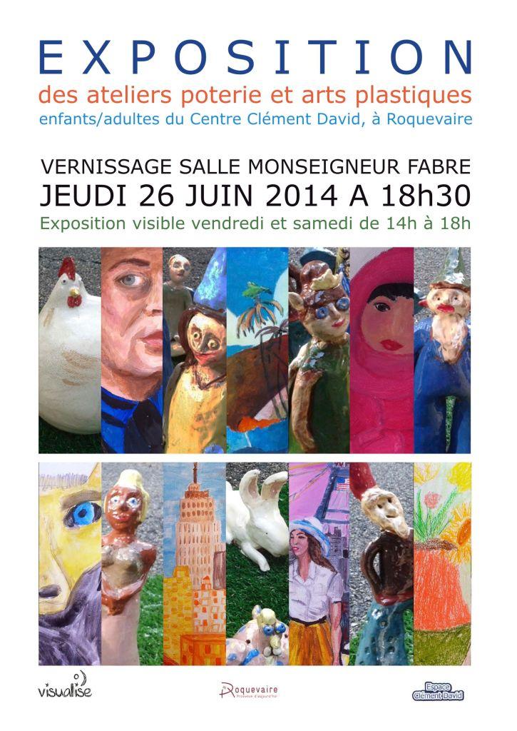 Affiche A3 Expo Art Lise-isabelle JPG JPG WEB
